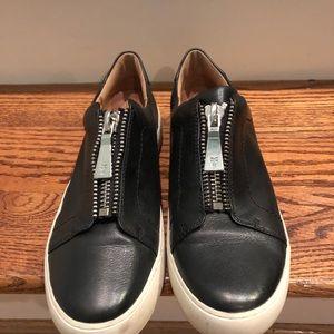 Frye women's black sneakers sz 7.5 medium